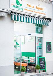Die Grünfee Laden Eingang